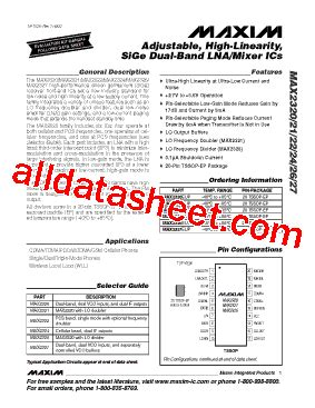 maxim integrated products work environment max2321 datasheet pdf maxim integrated products