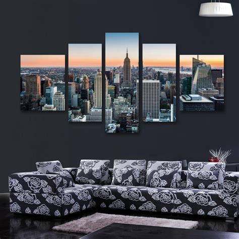 20 best collection of new york city canvas wall wall