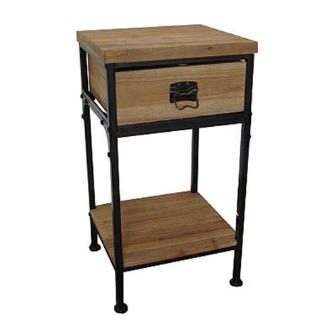 SONOMA life   style Wyatt End Table $69.99   Industrial Chic Furniture   Pinterest   Industrial
