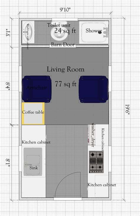 small house plans under 400 sq ft free tiny house plan without loft under 400sq ft