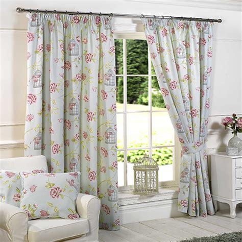 tony s curtains pink blue birdcage floral curtains tony s textiles