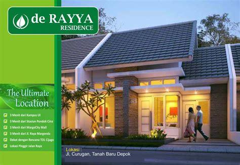 de rayya residence perumahan minimalis   tanah