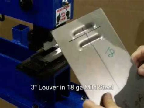 Bench Press Tool Mittler Brothers Bench Press With Louver Tool Youtube