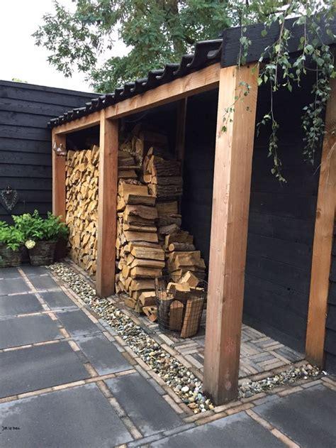 firewood storage ideas  pinterest