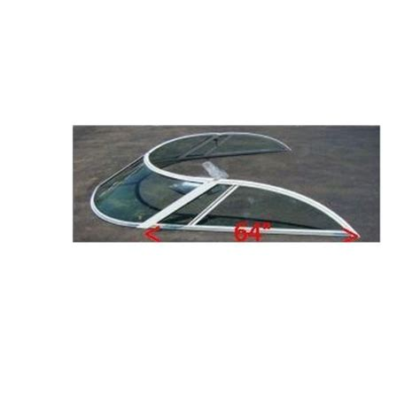 bayliner boat glass bayliner trophy glass boat windshield 4 pc 1890019 ebay