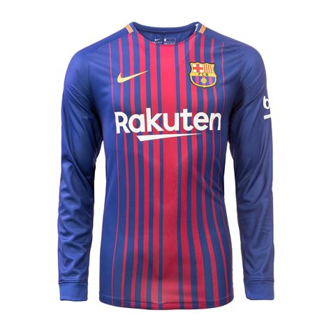 Tshirt Barcelona New Barca 19 fc barcelona home jersey 2017 18 sleeves fcb official store asia pacific