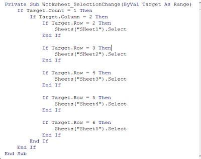 membuat hyperlink dengan javascript excelheru membuat hyperlink dengan worksheet event