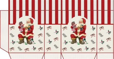 printable miniature christmas wrapping paper several boxes and bags miniature printables boxes