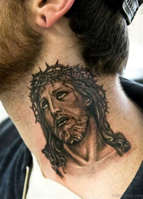 black jesus tattoos 27 spiritual jesus neck designs