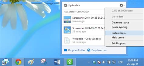 dropbox pc dropbox windows application overview