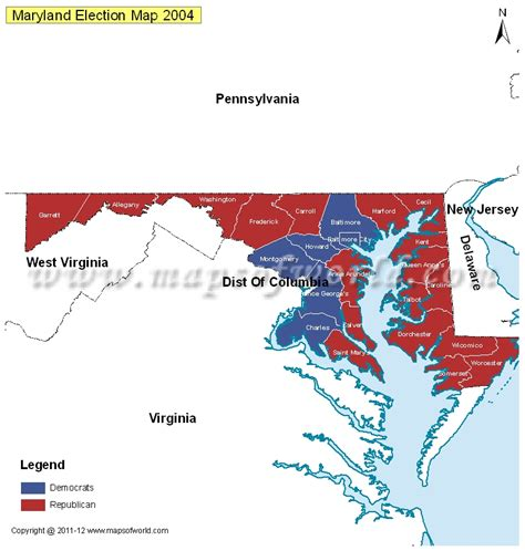 maryland electoral map maryland election results 2016 map county results live