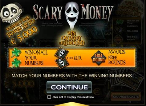 Play Free Scratch Cards Win Real Money - live a frightening playing experience with scary money