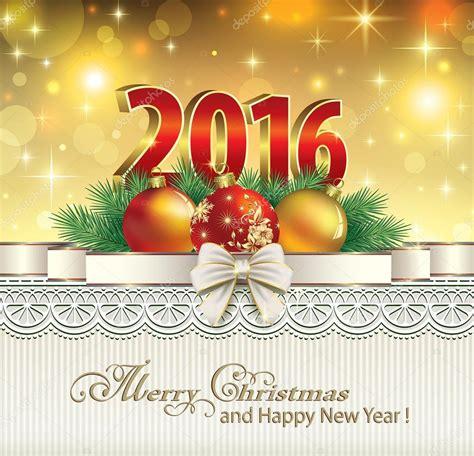 Anschreiben Happy New Year Feliz Navidad Y A 241 O Nuevo 2016 Vector Stock 169 Seriga 77347642