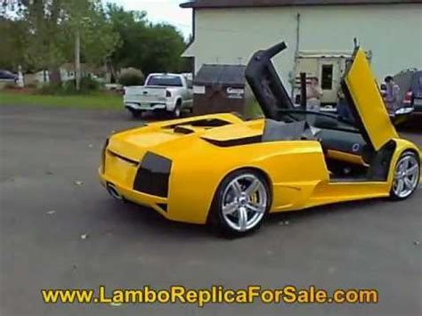 Lamborghini Murcielago Engine For Sale Lamborghini Murcielago Lp640 Replica 350 V 8 Kit Car