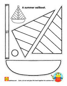 Kid Cut Out Template by Free Printable Activity Sheet Craft From