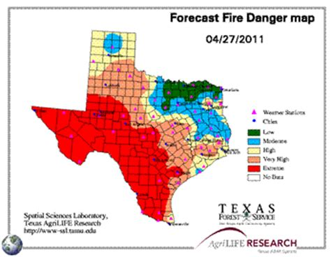 burn ban map texas florence vol department