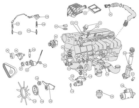 engine compartment diagram mbworld org forums