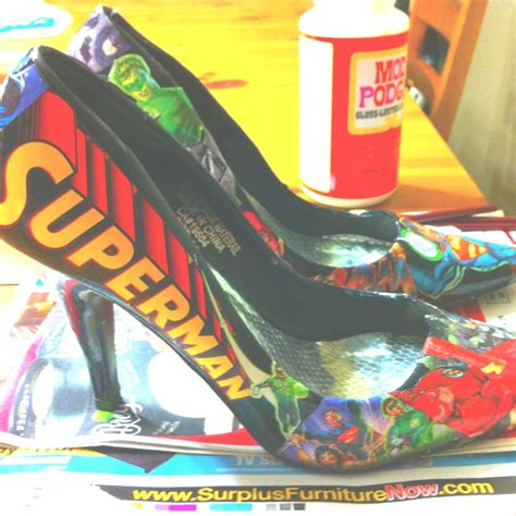 comic book sneakers comic book shoes trendy threads