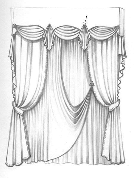 curtains drawn 26 best эскизы штор images on pinterest blinds sheet