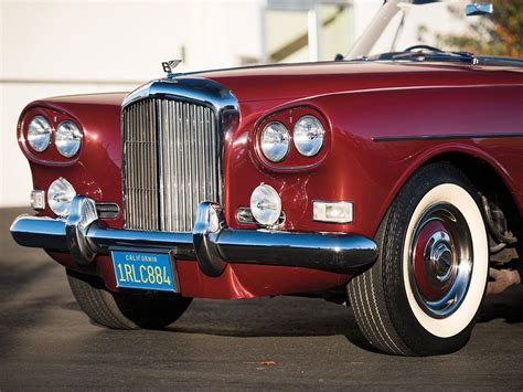 used bentley coupe used 1965 bentley s3 continental drophead coupe for sale