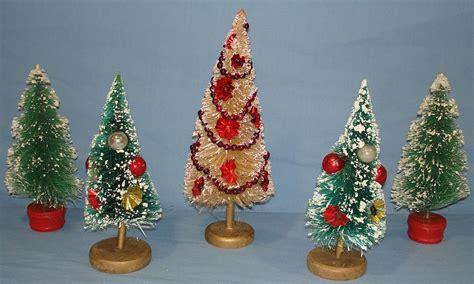 melbourne and 60cm bottle brush christmas tree vintage bottle brush trees gold bases vintagetoys item 667