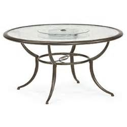 Patio Table Lazy Susan Smith Cora Dining Table With Lazy Susan Outdoor Living Patio Furniture Tables