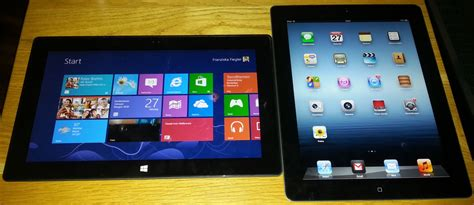 windows vs android tablet microsoft surface vs apple vergleich tablet