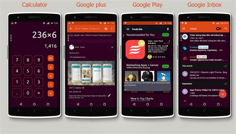 theme ubuntu apk cm12 x cm13 ubuntu dark theme android apps on google play