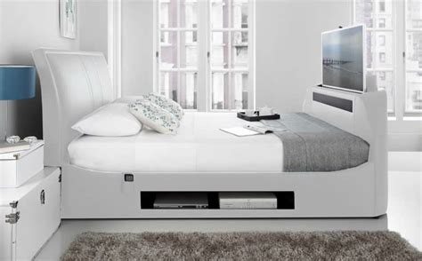 Superking Bed Frame With Storage The Maximus King Size Tv Bed Tv Bed Store