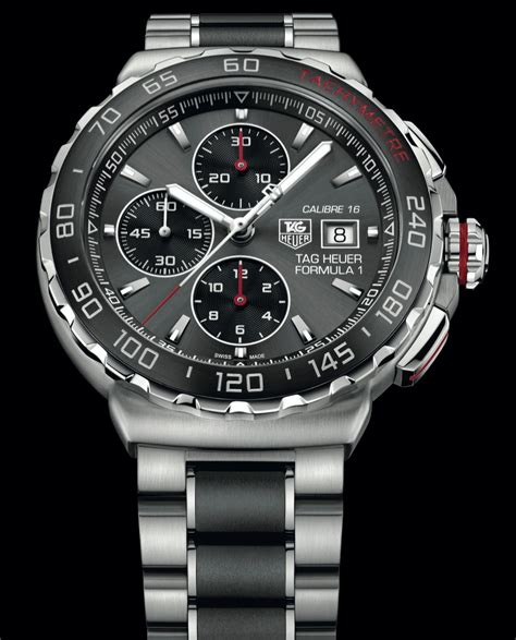 TAG Heuer FORMULA 1 Calibre 16 Automatic  First Look   The Home of TAG Heuer Collectors