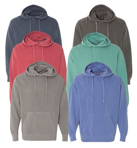 wholesale comfort colors wholesale comfort colors irregular adult hooded sweatshirt