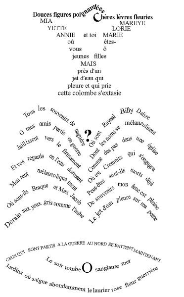 apollinaire guillaume graphic design history the red list apollinaire guillaume graphic design history the red list