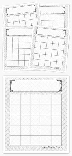bingo card template 5x5 1000 images about seg 233 dprogramok feladatlap szerkesztők