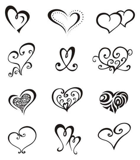 thumbs heart tattoo design 1 designs