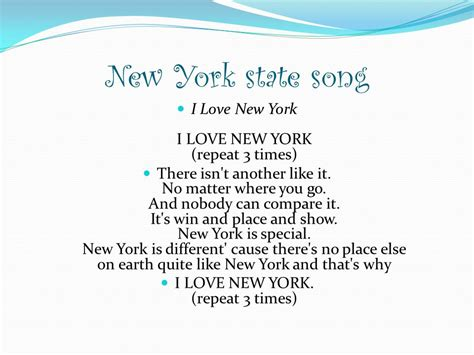 song nyc new york by de aja koontz ppt download