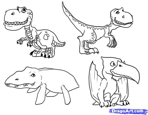 doodle dinosaur draw ruptor how to draw dinosaurs dinosaurs step by step