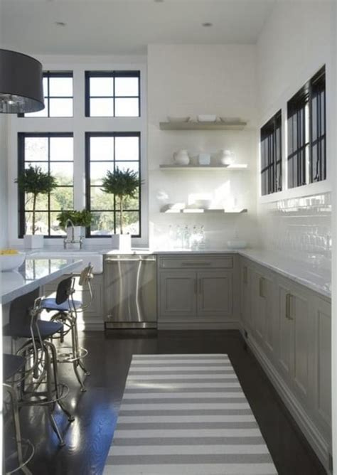 grey and white color scheme interior design in mind no upper cabinets in the kitchen coats