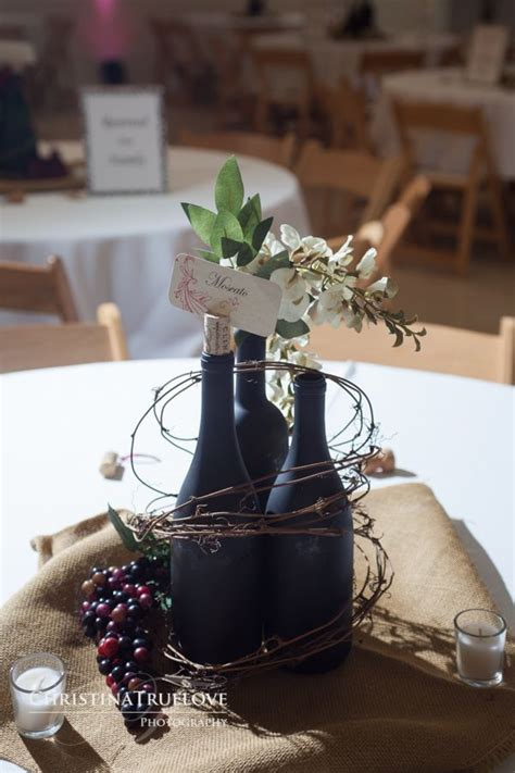wine themed decorations best 25 wine bottle centerpieces ideas on