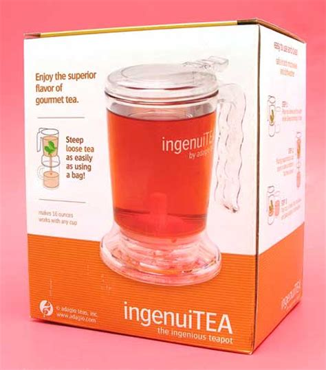 Review The Ingenuitea Microwavable Tea Pot by Ingenuitea Teapot Review The Gadgeteer