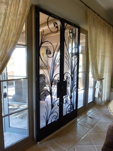 Wrought Iron Screen Door wrought iron screen doors woe things to make bulid