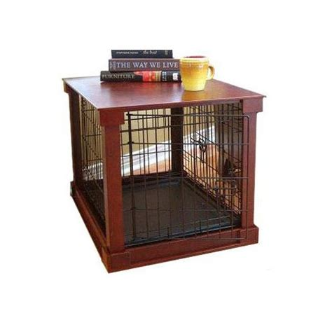 puppy crates petco merry products crate with wooden cover petco