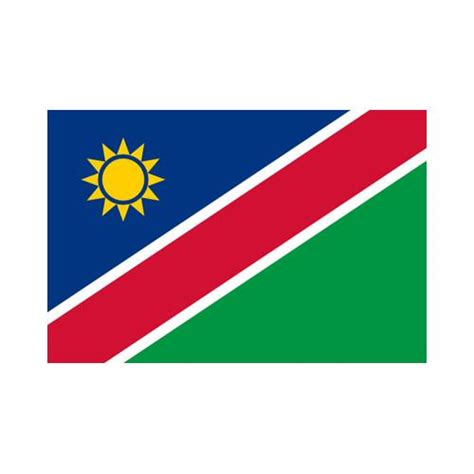 namibia 3x5 flag polyester flag with 2 grommets on the left side