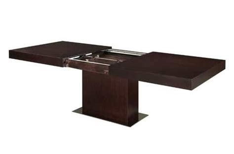 modloft astor dining table modloft astor extendable dining table modern dining