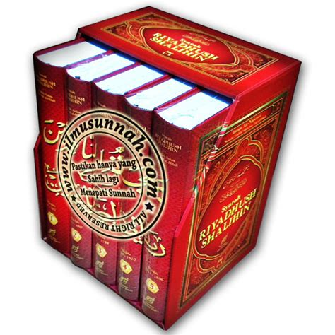 Buku Kitab Syarah Riyadhus Shalihin 1 Set 6 Jilid tatkala seseorang datang mengungkapkan rasa cinta kerana allah 187 ilmusunnah