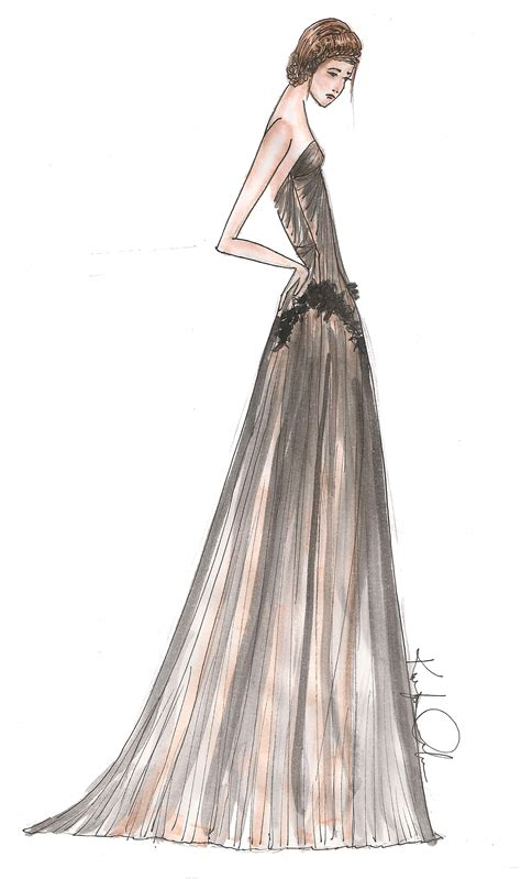 Golden Modeling In Project Runway Show At Fashion Week by Project Runway All Sketches Sketches Of Golden