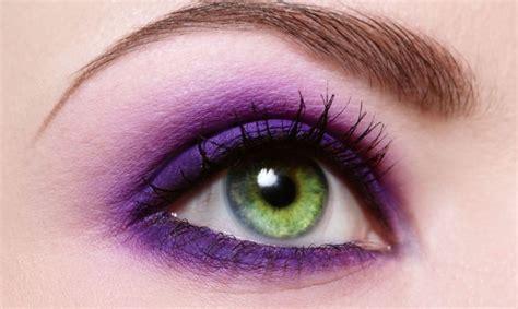 imagenes ojos de colores maquillaje morado divinemakeup