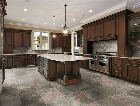 Kitchen Tile Floors Kitchen Tile Floor Ideas Best Kitchen Floor Material Grezu Home Interior Decoration