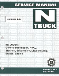 auto repair manual online 2005 hummer h2 electronic toll collection 2005 hummer h2 factory service manual 2 volume set