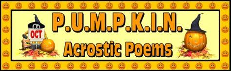 pumpkin acrostic poems unique pumpkin shaped halloween