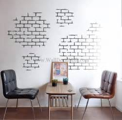 White Wall Stickers white brick wall decals walldecalmall com